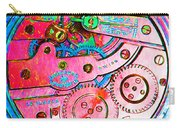 Time In Abstract 20130605p144 Square Carry-all Pouch