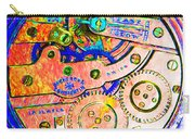 Time In Abstract 20130605p180 Square Carry-all Pouch