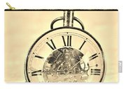 Time In The Sand In Sepia Carry-all Pouch