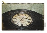 Time Is Fleeting Carry-all Pouch