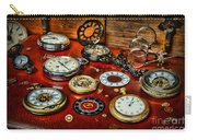 Time - Pocket Watches  Carry-all Pouch by Paul Ward