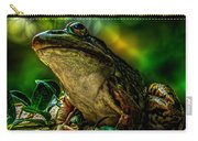 Time Spent With The Frog Carry-all Pouch