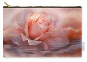 Time To Say Goodbye Rose Carry-all Pouch