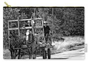 Time Travelers Bw Carry-all Pouch