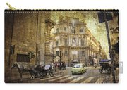 Time Traveling In Palermo - Sicily Carry-all Pouch by Madeline Ellis