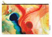 Time Will Tell - Abstract Art By Sharon Cummings Carry-all Pouch