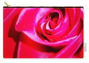 Timeless Red Rose Carry-all Pouch