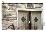 Red Tractor And Old Barn Ossipee New Hampshire Carry-all Pouch