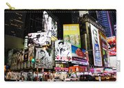 Times Square At Night Carry-all Pouch