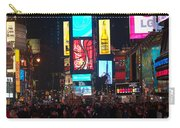 Times Square Crowds Carry-all Pouch