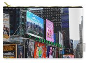 Times Square - Looking South Carry-all Pouch