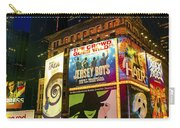 Times Square Carry-all Pouch by Svetlana Sewell