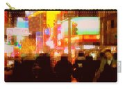 Times Square - The Lights Of New York Carry-all Pouch