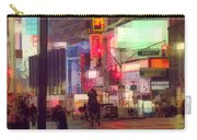 Times Square With Runaway Horse Carry-all Pouch