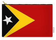 Timor-leste Flag Carry-all Pouch