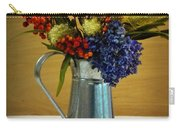 Tin Bouquet And Green Apples Carry-all Pouch