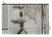 Tin Lighthouse Art Carry-all Pouch