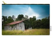 Tin Roof...ivy Covered Barn Carry-all Pouch by Shane Holsclaw