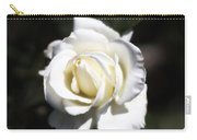 Tineke White Rose  Carry-all Pouch
