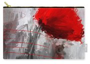 Tint Of Red Carry-all Pouch