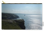 Man On The Edge Tintagel Carry-all Pouch