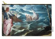 Tintoretto's Christ At The Sea Of Galilee Carry-all Pouch