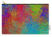 Tiny Blocks Digital Abstract - Bold Colors Carry-all Pouch