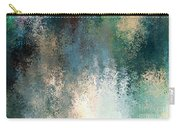 Tiny Blocks Digital Abstract - Cool Blues Carry-all Pouch
