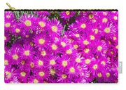 Tiny Dancer - Colorful Midday Flowers Lampranthus Amoenus Flower In Bloom In Spring. Carry-all Pouch