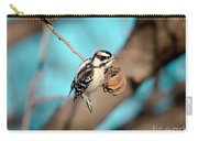 Tiny Downy On Hickory Nut Carry-all Pouch