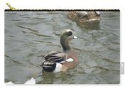 Adorable Tiny Duck Swimming Carry-all Pouch