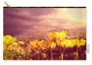 Tiny Flowers Carry-all Pouch by Bob Orsillo