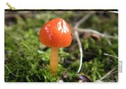Tiny Orange Mushroom Carry-all Pouch