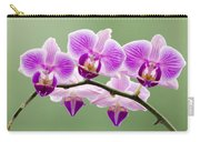 Tiny Orchid Faces Carry-all Pouch