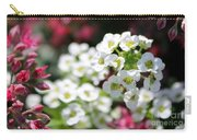 Tiny Pink And Tiny White Flowers 2 Carry-all Pouch