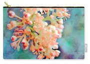 Tiny Spring Tree Blooms - Digital Color Change And Paint Carry-all Pouch