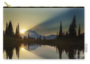 Tipsoo Rainier Sunstar Carry-all Pouch