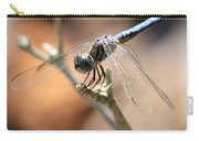 Tired Dragonfly Square Carry-all Pouch