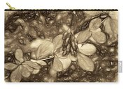 Tis The Season - Antique Sepia Carry-all Pouch
