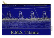 Titanic By Design Carry-all Pouch