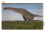 Titanosaurus Standing In Swamp Carry-all Pouch