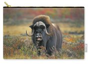 Tk0034, Thomas Kitchin Muskox On Arctic Carry-all Pouch