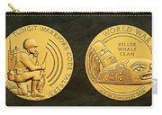 Tlingit Tribe Code Talkers Bronze Medal Art Carry-all Pouch