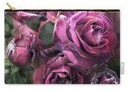 To Be Loved - Mauve Rose Carry-all Pouch
