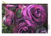 To Be Loved - Purple Rose Carry-all Pouch