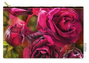 To Be Loved - Red Rose Carry-all Pouch