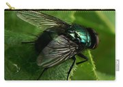 To Be The Fly On The Salad Greens Carry-all Pouch by Barbara St Jean