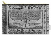 'to Counterfeit Is Death Carry-all Pouch