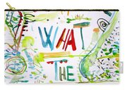 To Love What The Soul Hates Carry-all Pouch