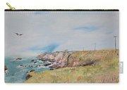 To The Lighthouse  Tribute To Virginia Woolf Carry-all Pouch by Asha Carolyn Young